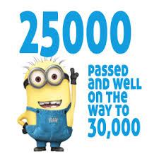 25000 a